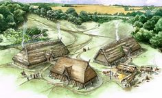 Anglo-Saxon Lyminge, in Kent by Mark Gridley