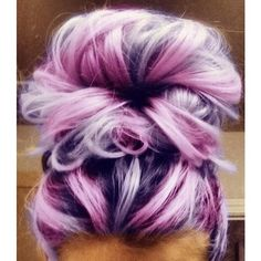 25 Pink Hair Styles To Dye For! found on Polyvore featuring polyvore and hair
