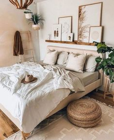Green X Brown Bedroom Ideas – You are in the right place about Southern home decor historic Here we offer you the most beautiful pictures about the Southern home decor bedroom you are looking for. When you examine the Green X Brown Bedroom Ideas – … Cozy Bedroom, Dream Bedroom, Bedroom Ideas, Bedroom Brown, Bedroom Designs, Ikea Boho Bedroom, Bedroom Small, Guest Bedrooms, Modern Bedroom