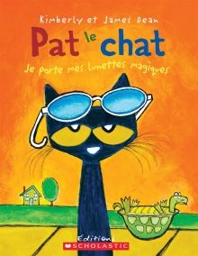 Pete the Cat and His Magic Sunglasses by James Dean. Pete the Cat wakes up feeling grumpy—nothing seems to be going his way. But with the help of some magic sunglasses, Pete learns that a good mood has been inside him all along. James Dean, Pete The Cats, Personalized Books, Children's Literature, Art Design, Read Aloud, Story Time, In Kindergarten, Bedtime