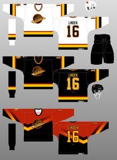 Vancouver Canucks - The (unofficial) NHL Uniform Database Ice Hockey Jersey, Ice Hockey Teams, Hockey Players, Hockey Stuff, Hockey Sweater, Hockey World, International Teams, Nhl Jerseys, Western Conference