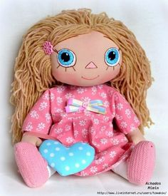 Lots of Doll Making Pattern and Tutorial part 2 Very good link.