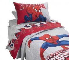 Spiderman Completo Lenzuola Letto Singolo Caleffi AI 2013-2014 Rosso