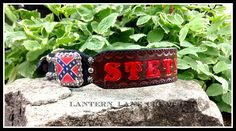 "custom dog collar for ""Stetson"""