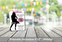 16th birthday invitation Sweet sixteen birthday invitation