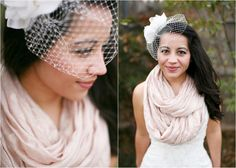 Scarves for Fall Bridesmaids..maybe yes...