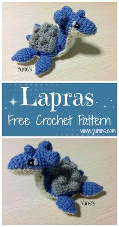 Lapras, Free Pattern