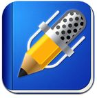 Notability is a feature-filled note-taking app for the iPad that is simple to use. Tips: - upload notes/docs/powerpoints - record lectures and take notes Teaching Technology, Educational Technology, Technology Tools, Assistive Technology, Technology Integration, Mobile Technology, Handwriting App, Application Iphone, Learning Goals