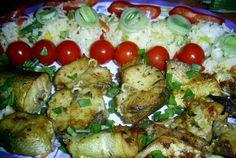 Salau la cuptor cu orez mexican Yummy Food, Tasty, Chicken, Delicious Food, Buffalo Chicken, Good Food, Rooster