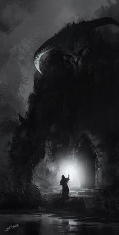 ArtStation - Tomb guardian, Vitalii Smyk