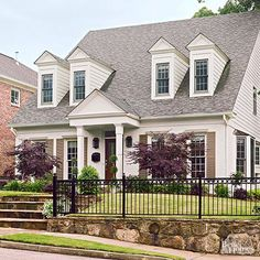 Look through this collection of before-and-after home exteriors to find entryway designs that add curb appeal and welcome guests.