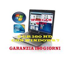 """AFFARE D'ORO""""""""HP 6530b WEBCAM E WIFI CON WINDOWS 7 2GB 160HD , WEB CAM E WIFI 180 GIORNI DI GARANZIA"""