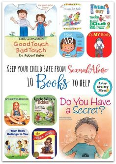 How to go about talking to children about sexual abuse, and what to tell them? Books help - Sharing 10 books to help keep your child safe from sexual abuse . Teach her/him about good touch, bad touch. About knowing what parts of his body are private, off-limits to anyone but themselves. A must buy! Parenting Books, Gentle Parenting, Kids And Parenting, Peaceful Parenting, Parenting Advice, Teaching Kids, Kids Learning, Child Abuse Prevention, How To Teach Kids