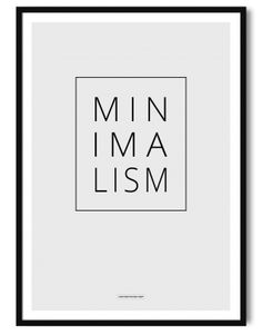 Minimalism poster A3 - Another Poster Shop