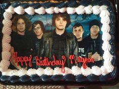 My Chemical Romance cake...