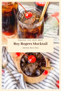 Find easy-to-make comfort food recipes like Healty recipes, dinner recipes and more recipes to make your fantastic food today. Easy Drink Recipes, Nut Recipes, Dinner Recipes, Roy Rogers Drink, Mocktail Drinks, Non Alcoholic, Healthy Drinks, Food To Make, Easy Meals