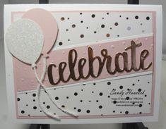 Springtime Foils: Polka Dots- Celebrate! | UdderlyAwesome Stamping From The Heart | Bloglovin'