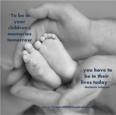 Father's Day Quotes, Quote About Father Being in Children's Life
