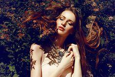 Floral dreams by Zarina Ramone, via Behance