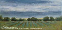 Stormy Evening by Deborah Angilletta Oil ~ 8 x 16