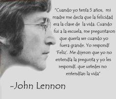 frases sobre la vida, John Lennon