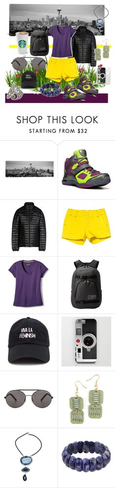 """""""Untitled #2351"""" by moestesoh ❤ liked on Polyvore featuring iCanvas, Rykä, Patagonia, Kavu, Smartwool, Dakine, Seafolly and NOVICA"""