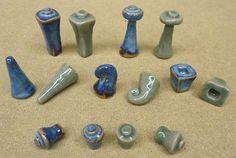 Handmade Clay Chess Set - 5
