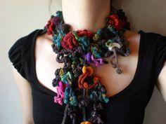 Вязаные фриформ ожерелья IrregularExpressions