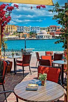 Χανια κρητη Greek Beauty, Outdoor Furniture Sets, Outdoor Decor, Greece, Around The Worlds, Sky, Table Decorations, Country, Places