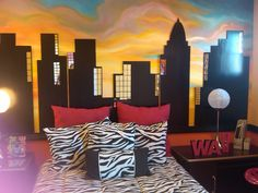 City Scape Kids Room