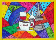 Kids Artists: In the style of Romero Britto