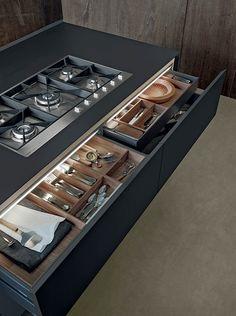 cocina gris y madera varenna7