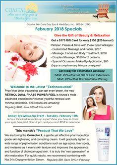 February Specials!!