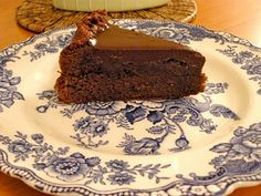 Nigella's Chocolate Marsala Cake - Made with mascarpone instead of heavy cream and Ruby Red Port instead of Marsala.