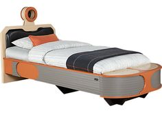 <i>Star Wars< i> Landspeeder™ Orange 3 Pc Twin Panel Bed. $575.00. 92L x 42W x 45.6H. Find affordable Beds for your home that will complement the rest of your furniture.