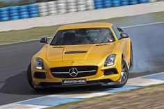Mercedes-Benz SLS AMG Black Series at Phillip Island. Yes yes definitely could be my car...sad that I have a C class and still want more