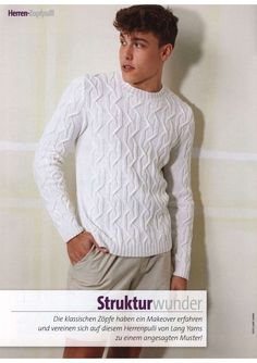 Crochet Jacket, Rubrics, Knitwear, Men Sweater, Knitting, Sweaters, Jackets, Ideas, Fashion