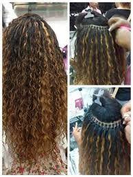 Resultado de imagem para mega hair cacheado antes e depois
