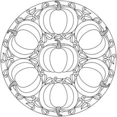 Mandala Halloween