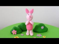 Piglet with gum paste / Piglet en pasta de goma - YouTube