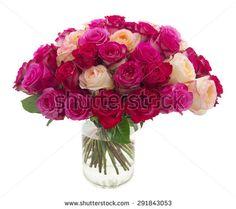 Design Vase Of Roses Fotografie, snímky a obrázky   Shutterstock