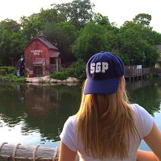 The preppy classic navy frayed letter baseball cap hat everyone is talking about!!  southerngirlprep.com #sgpsummeradventures | Southern Girl Prep