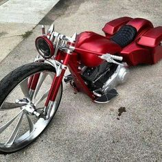 "This bike brings new meaning to the word ""custom"""