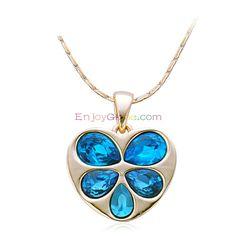 Lovely Heart Shape Couple Necklace