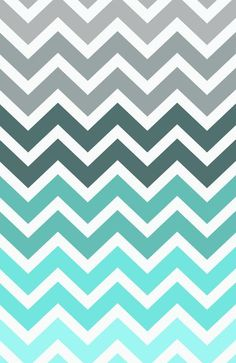Awesome Navy Blue Zig Zag Rug