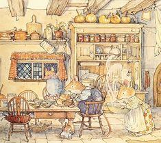 Brambly Hedge Winter Toadflax Home cropped