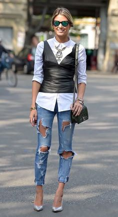 472f9fcdb995 30 Great Leather Outfit Ideas for Ladies
