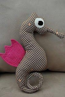 seahorse plush tutorial @Monica Forghani Forghani Scott
