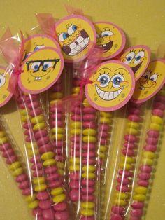 spongebob party blogspot | Spongebob Party Favor | Sponge bob bday theme