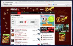 Lion - Sitebranding auf szene1.at